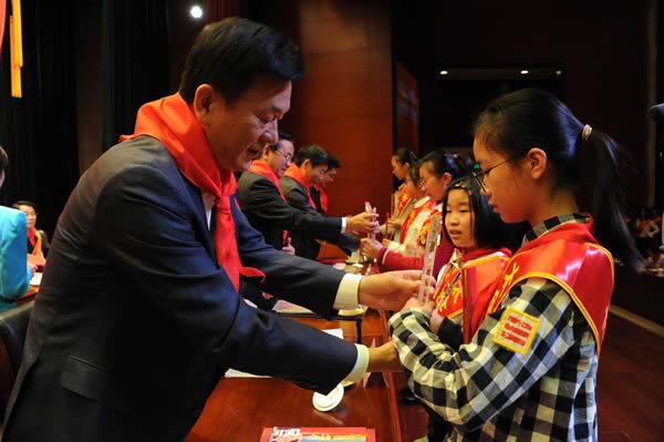 中国少年先锋队太仓市第六次代表大会召开,沈